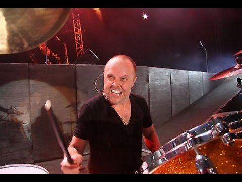 Lars Ulrich Drum Solo (Metallica Rock Am Ring) - YouTube