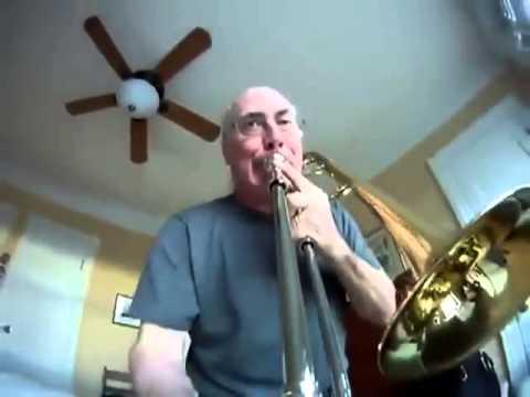 トロンボーンの先端にカメラを搭載してみた - YouTube
