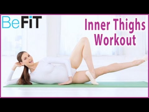 Ballet Beautiful: Lean & Firm Inner Thighs Workout- Mary Helen Bowers - YouTube