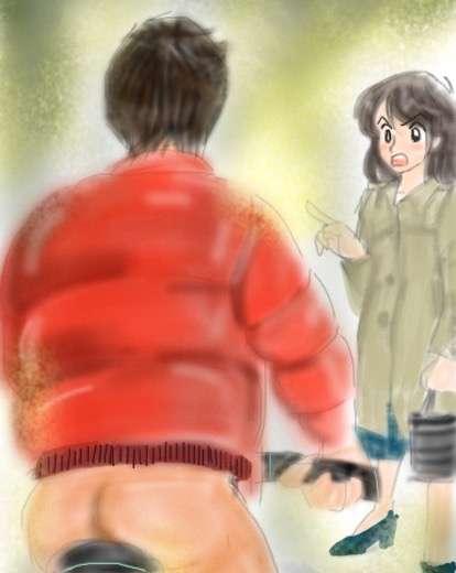 3月並みの暖かさでズボン履き忘れ 下半身丸出しのチャリ男 杉並区 | ハザードラボ