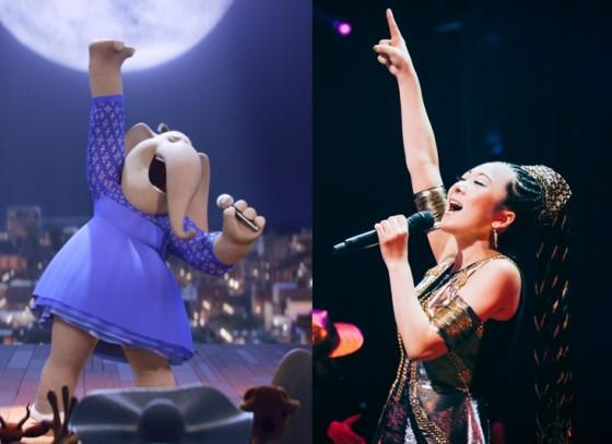 MISIA、ハリウッド映画で吹き替え初挑戦!美声とのギャップがすごいゾウの歌唱シーン!