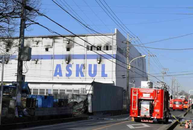 アスクル火災、消火中社員が立ち入り 消防「ありえぬ」:朝日新聞デジタル