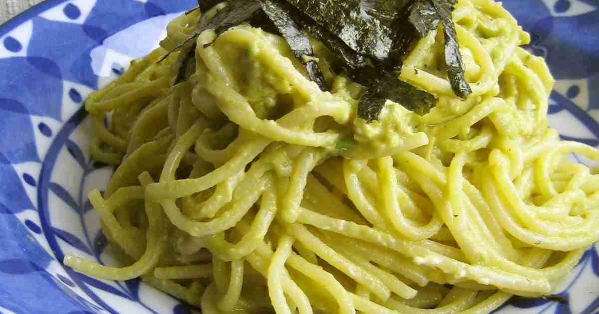 アボカド×クリームチーズの和風パスタ by berry+ [クックパッド] 簡単おいしいみんなのレシピが260万品