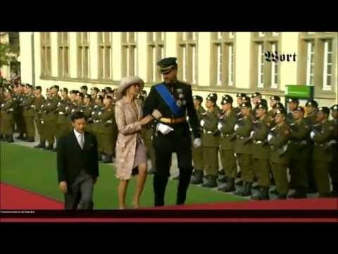 Luxembourg Royal Wedding 2012 (Part I) - YouTube