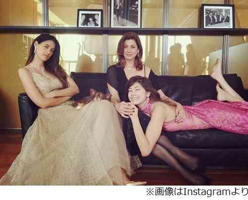 森泉&森星&母のゴージャス3ショット、美しい3人の姿に「素敵ー!」