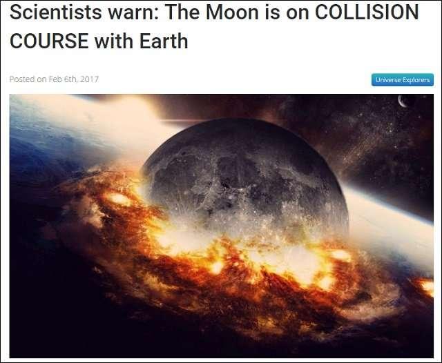 65億年後に月が地球に落ちてくることが判明!「逆ジャイアント・インパクト」で人類滅亡が確定か!?