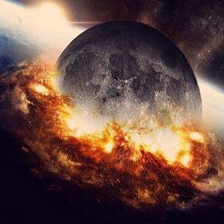 【ガチ科学】月が地球に落ちてくることが判明!「逆ジャイアント・インパクト」で人類滅亡が確定か!?