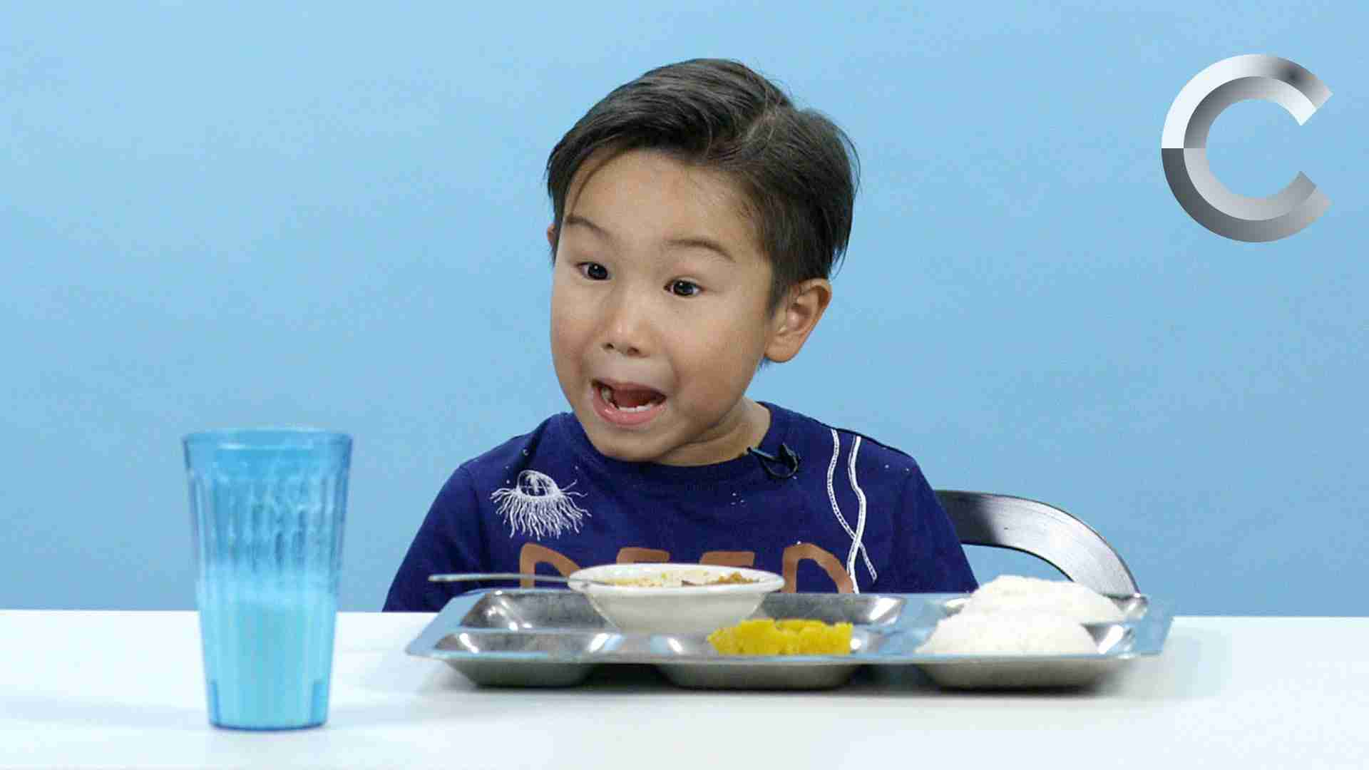 American Kids Try School Lunches from Around the World   Ep 2 - YouTube