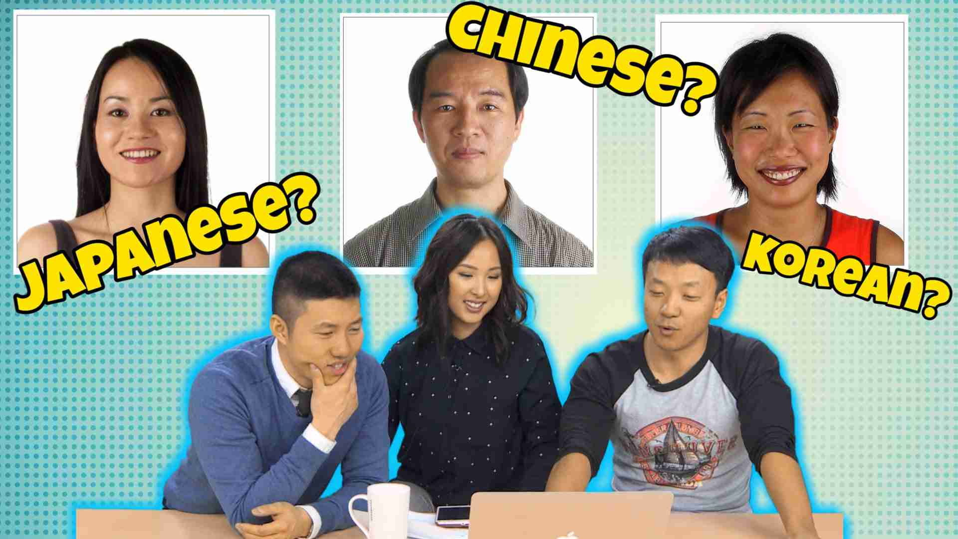 How To Tell Chinese, Koreans and Japanese Apart - YouTube