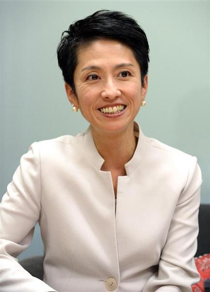【民進党代表選】蓮舫代表代行インタビュー(3)台湾との「二重国籍」疑惑報道に「帰化じゃなくて国籍取得」「質問の意味分からないけど、私は日本人」(5/5ページ) - 産経ニュース