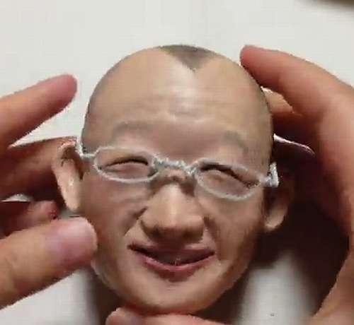 衝撃の完成度「紙粘土で鶴瓶作ってみた」 | Narinari.com
