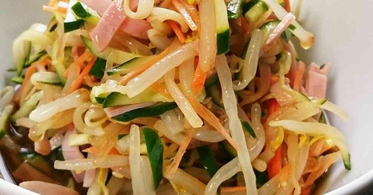 もやしときゅうりの中華サラダ by ちび坊ママ [クックパッド] 簡単おいしいみんなのレシピが260万品