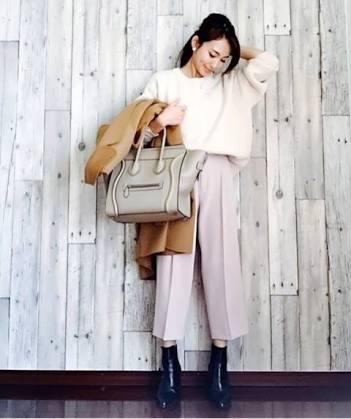 【ファッション】冬物から春物の移行