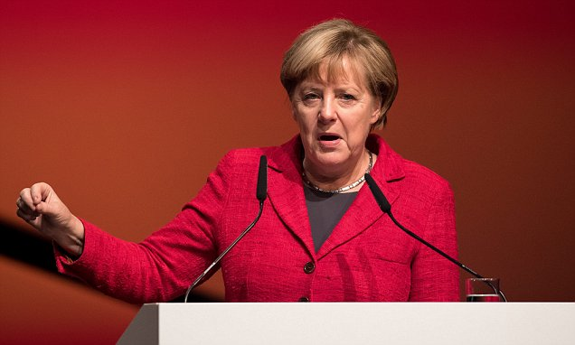 Angela Merkel under more pressure as it's revealed migrants committed 142,500 crimes in Germany | Daily Mail Online