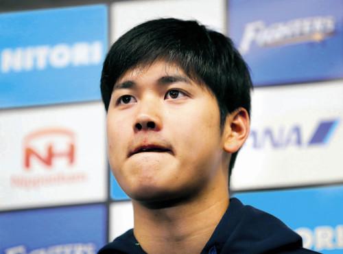 """【日本ハム】大谷、右足首手術の可能性も…WBC""""野手""""も辞退へ : スポーツ報知"""