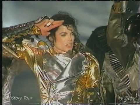 Michael Jackson - HIStory Tour (1996 - 1997) part 3 - YouTube