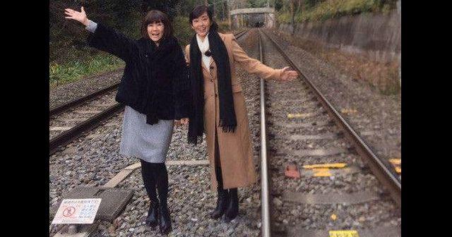 松本伊代 線路侵入ブログで京都府警から事情聴取5時間