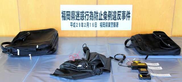 傘にカメラ、盗撮容疑で会社員逮捕 千人被害か 福岡:朝日新聞デジタル