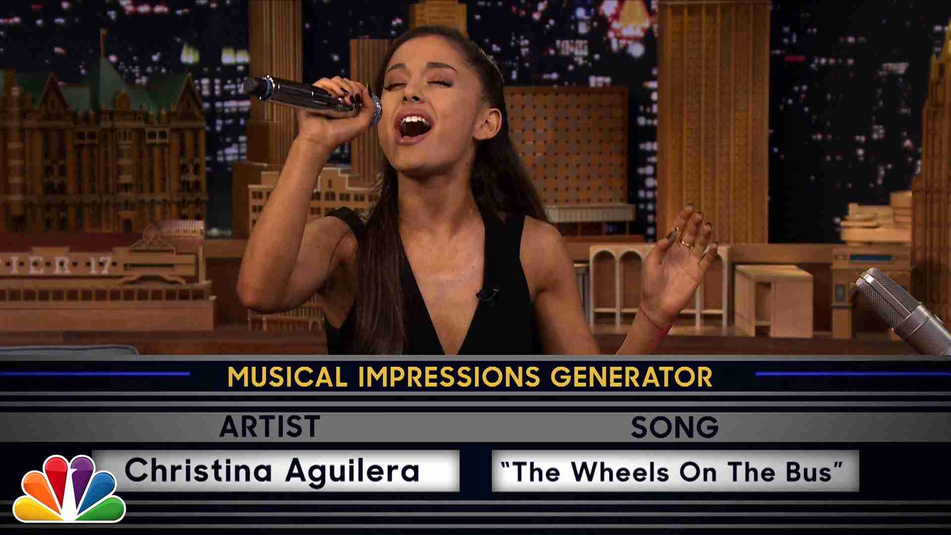 Wheel of Musical Impressions with Ariana Grande - YouTube