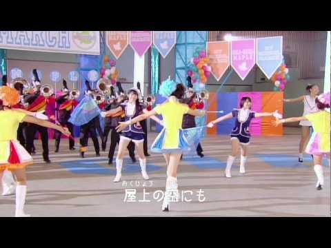 おはガール メープル with スマイレージ 『マイ・スクール・マーチ』(MV) - YouTube