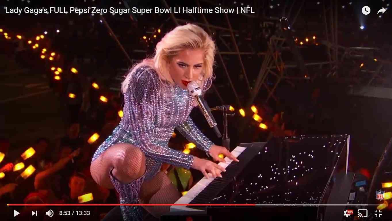【動画あり】 レディー・ガガの「スーパーボウル2017」ハーフタイムショーが鳥肌すぎた! 呼吸を忘れる13分半は必見!! | ロケットニュース24