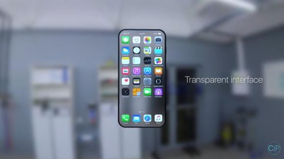 透明なiPhone8!?未来的な新作コンセプト映像が公開! - iPhone Mania