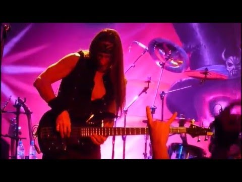 Gamma Ray - Bass Solo Dirk Schlächter - Live In Moscow 2015 - YouTube
