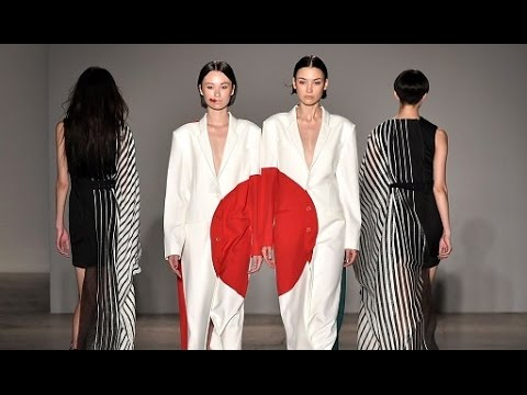 Atsushi Nakashima | Spring Summer 2017 Full Fashion Show | Exclusive - YouTube