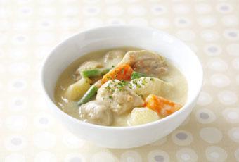 鶏肉のクリームシチュー | オリジナルレシピ | CLUB T-fal