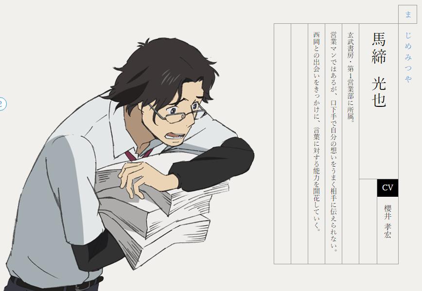 理想の上司のアニメキャラ