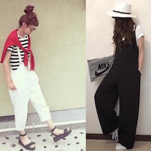 サロペットで大きいサイズの着こなし方!夏コーデと人気の大きいサイズのサロペットを紹介! | Lady's Code Collection