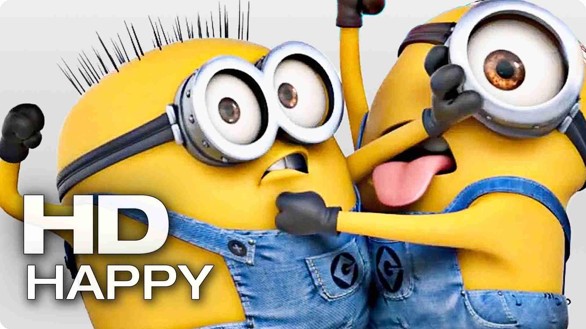 HAPPY - Pharrell Williams (feat. Minions) - YouTube