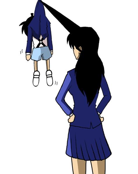 【画像】「コナン」蘭姉ちゃん、温泉でも崩れない謎の