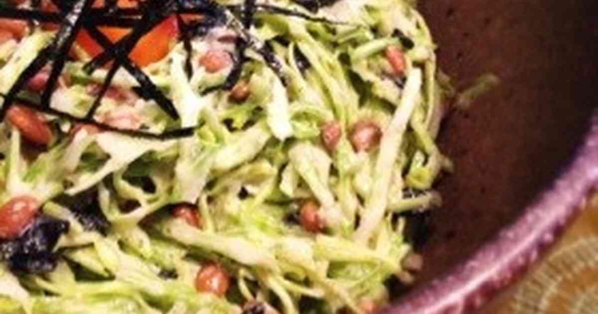 キャベツと納豆の和風おつまみサラダ by ともももももえ [クックパッド] 簡単おいしいみんなのレシピが261万品