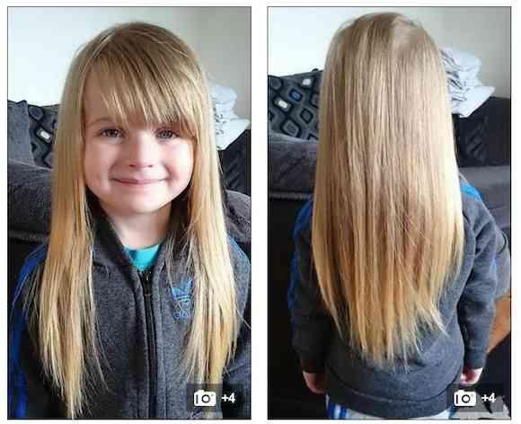 【画像】【やさしさの奇跡】ラプンツェル好きの4歳の少女が「自慢の長い髪をバッサリ切った理由」が感動的!  アナタにもできる「髪の毛の寄付」とは - Peachy - ライブドアニュース