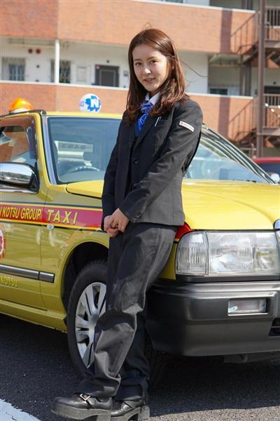 ナンパされても舌打ちされても「安全第一」 おじさんどころか美人過ぎるタクシー運転手がメディアに登場