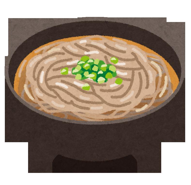 蕎麦が好きな人!