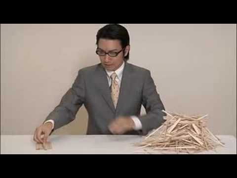 The Japanese Tradition 「日本の形」 HASHI - YouTube