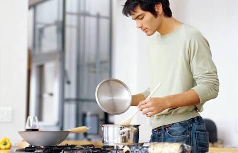 料理教室に通ってる男性について