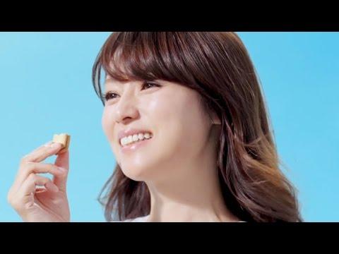 ビスコ 深田恭子「ずっと味方」篇 グリコCM - YouTube