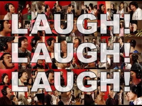 LIVE STAND テーマソング「LAUGH! LAUGH! LAUGH!」 プロモーションビデオ - YouTube