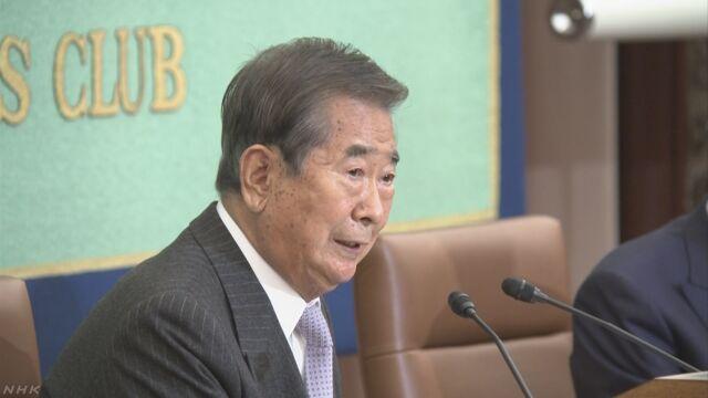 石原元都知事 豊洲への移転「私だけに責任ある訳でない」 | NHKニュース