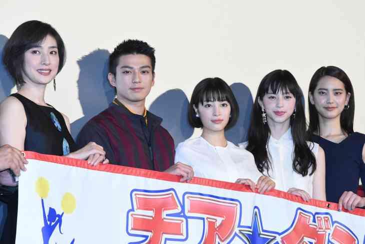 広瀬すず、主演映画「チア☆ダン」初日に感極まる「心から幸せ」