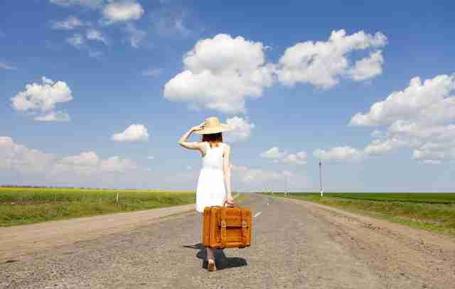 一人旅の経験ありますか?