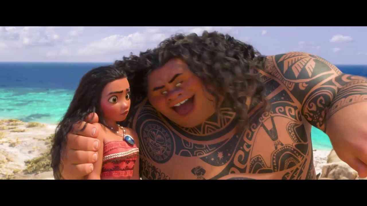 「モアナと伝説の海」俺のおかげさ♪フルバージョン - YouTube