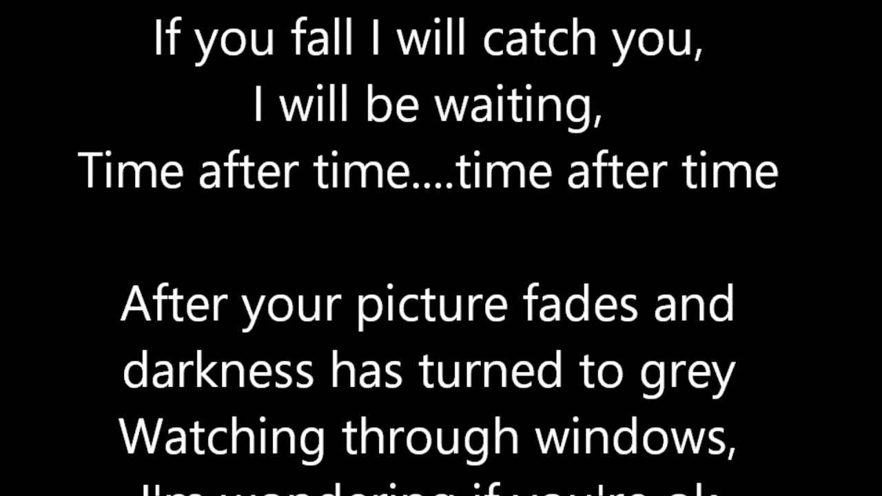 Time after time - Eva Cassidy  (Lyrics) - YouTube