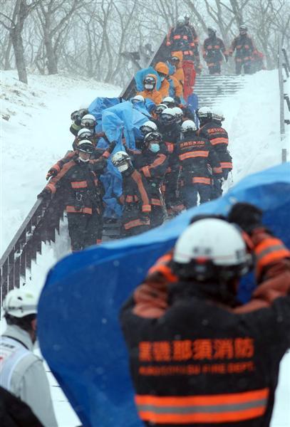 【栃木スキー場雪崩】無謀な強行判断 歩行訓練が雪崩誘発か(1/2ページ) - 産経ニュース