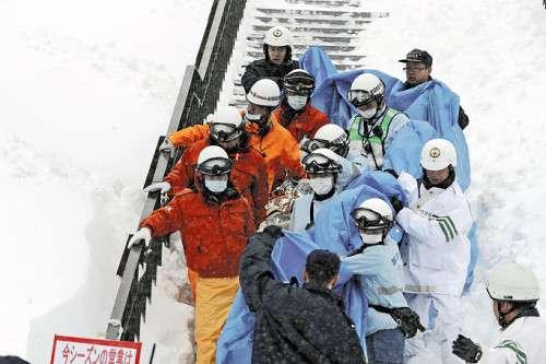 栃木の雪崩事故 引率の教員が「伏せろっ」と叫ぶも足元の雪動く - ライブドアニュース