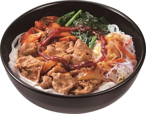 """すき家に""""ロカボ""""が新登場!「ロカボ牛麺」と「ロカボ牛ビビン麺」"""