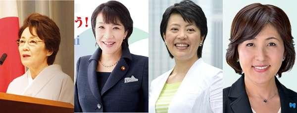 第二次安倍内閣で入閣した5人の女性閣僚たちのぶっ飛んだ「女性観」発言 - ライブドアニュース